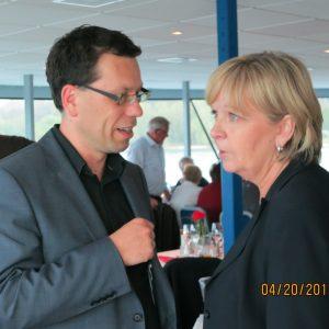 Dierk Timm im Gespräch mit Hannelore Kraft