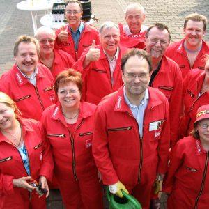 Das Rotmann-Team in Aktion