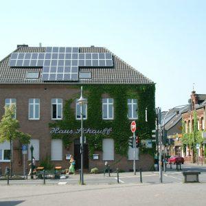 Solaranlage auf Haus Schauff läuft bereits sehr erfolgreich