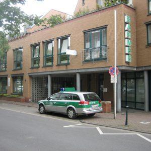 Pulheimer Polizeiwache - noch ist sie besetzt