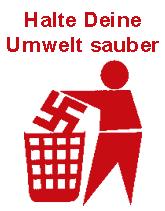 Halte Deine Umwelt Sauber